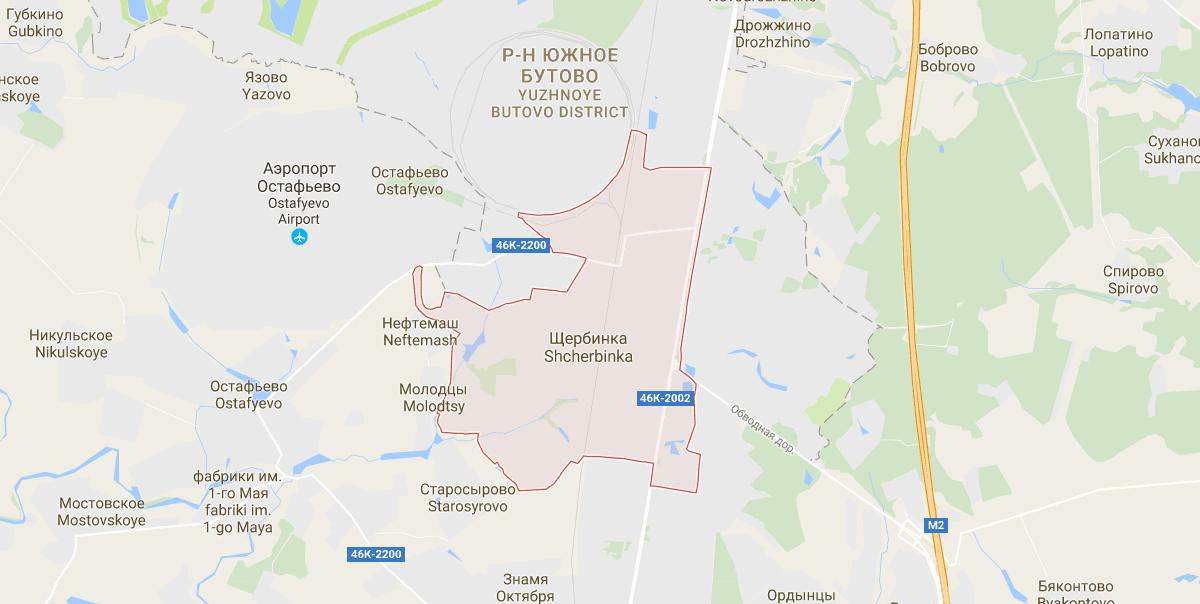 Адвокат в Щербинке